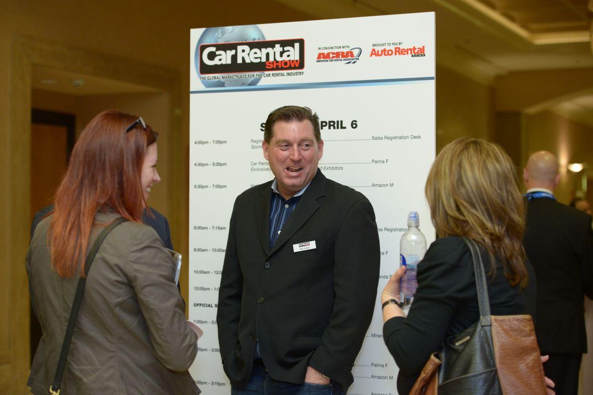 2014 Car Rental Show Attendees