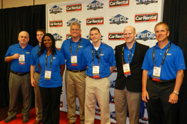 2015 International Car Rental Show Networking