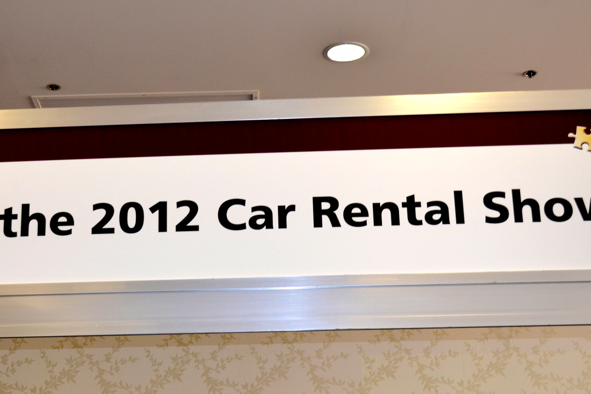Welcome to the 2012 Car Rental Show!