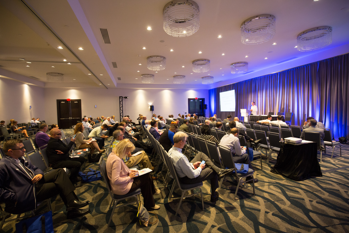 The Auto Rental Summit featured several seminars during the two-day conference.