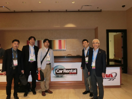 Representatives from the Nippon Rent-A-Car Service Inc. in Japan.