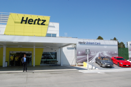 Hertz's Redesigned San Diego Facility