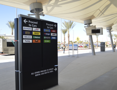 Currently, there are 14 car rental brands operating at the facility. There is room for up to 19...
