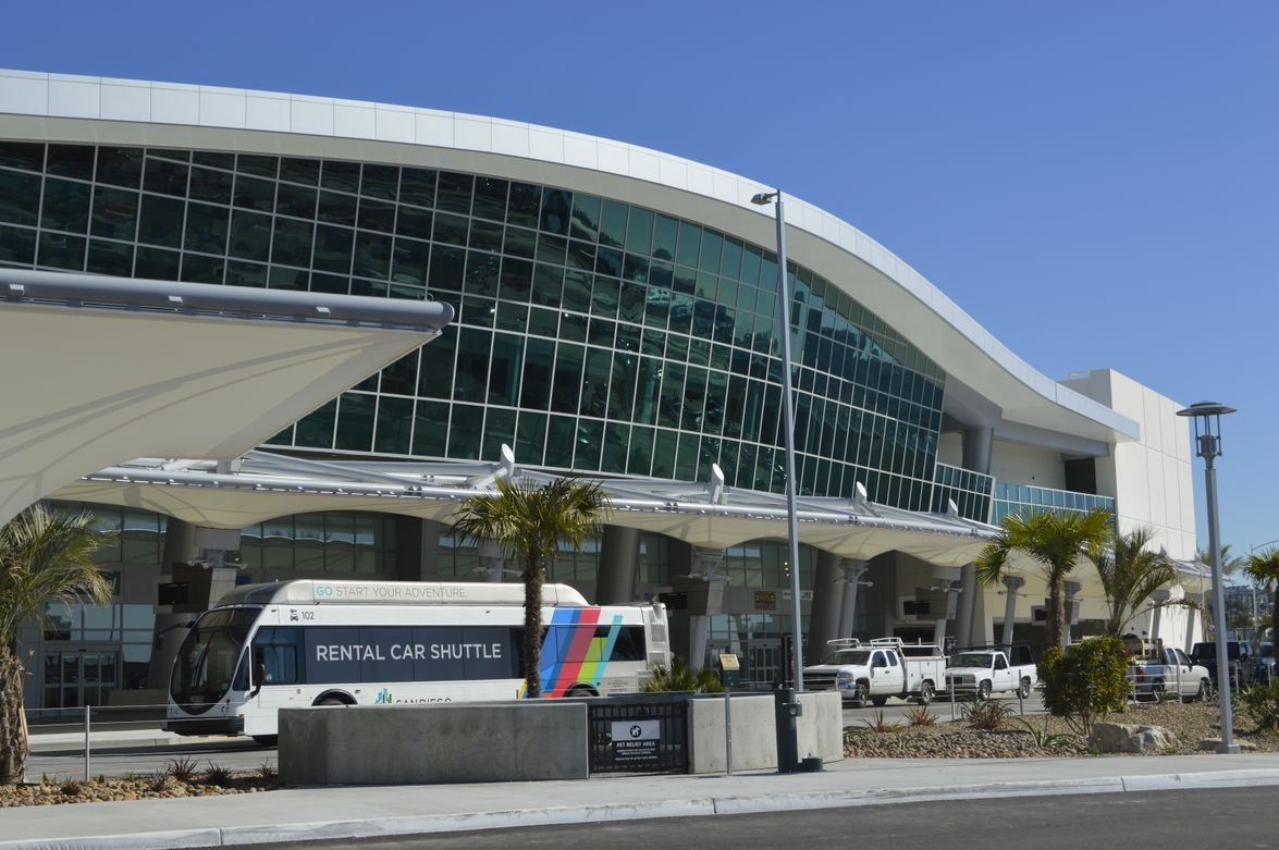 The $316-million rental car facilityfeatures four levels. The center is about 1,400 feet long—...