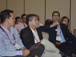 Attendees had a chance to ask questions at the end of each seminar.