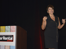 During the closing keynote session, Mary Ann Sena-Edelen of MGM Resorts International shared...