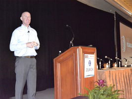 Dr. Craig Manning shared his Fearless Mind methodology during Tuesday's Breakfast Keynote Address.