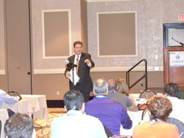 David Purinton of PurCo Fleet Services presented information on loss-of-use recovery.