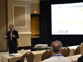 """""""Are You Prepared for the 2014 Tax Hit?"""" seminar featured Rob Salazar, a CPA with The Tax..."""