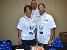 NextGear Capital sponsored special Auto Rental rock T-shirts for all attendees.