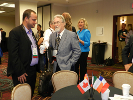 For the first time, this year's show featured a networking eventfor international attendees to...
