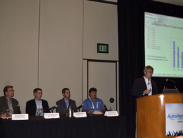 The Fleet Jam Session also included a panel discussion on the latest trends in fleet...