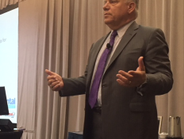Mike Pitcher, former CEO of LeasePlan USA, delivered the keynote address.