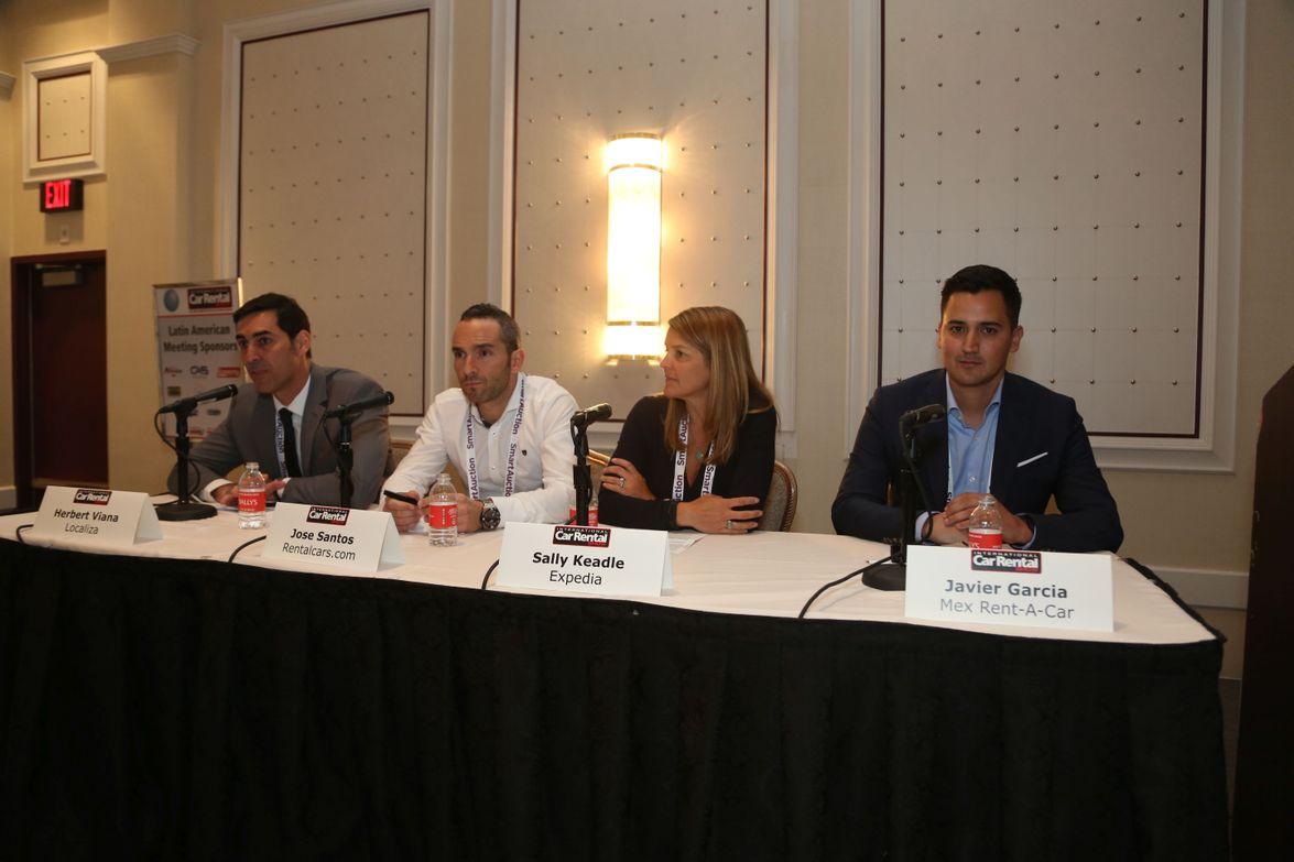 During this Latin American seminar, a panel of brokers, rental operators, and online travel...