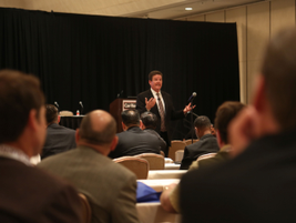 David Purinton, owner and president of PurCo Fleet Services, presented a seminar on how the...