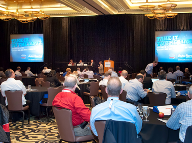 The Auto Rental Summit featured several seminars during the two-day event.