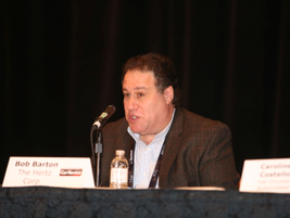 Bob Barton, vice president of franchising, Hertz Corp.