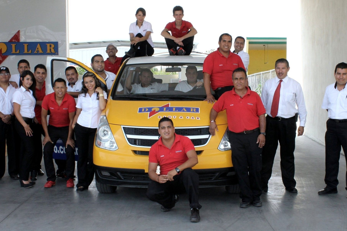 The Dollar Rent-A-Car team in Guadalajara, Mexico.
