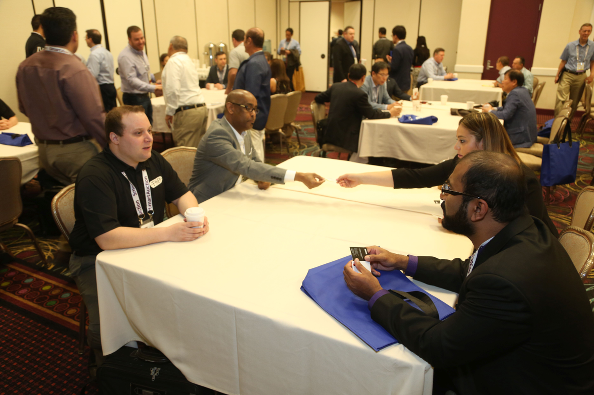 First-time attendees had the chance to meet other new attendees and learn more about the event's...