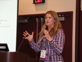 Lori Tennant of TSD discussed how a software system can help streamline a dealership operation.