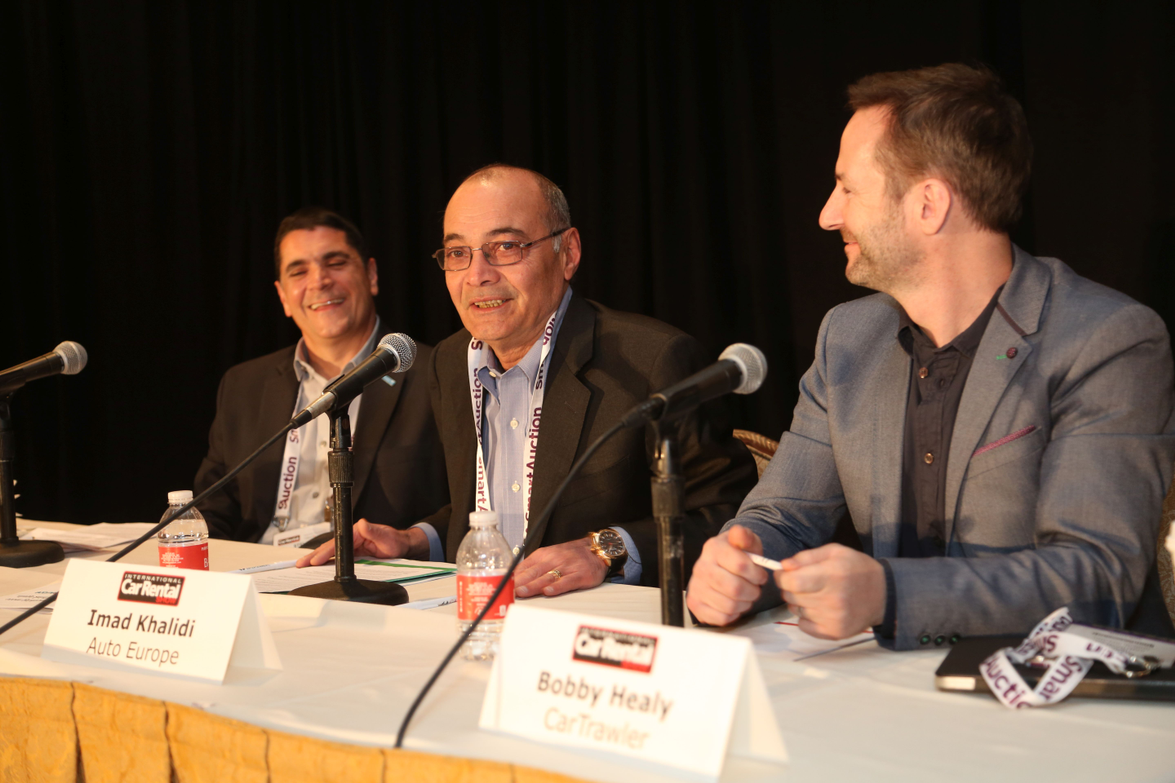 The opening keynote address featured a panel of representatives from car rental and travel...