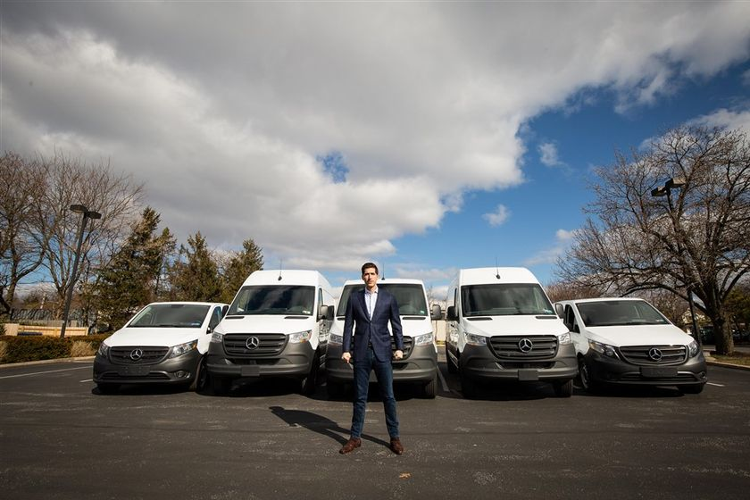 """Ari Raptis, founder and CEO of Talaria Transportation believes that his """"crisis SOP"""" and..."""