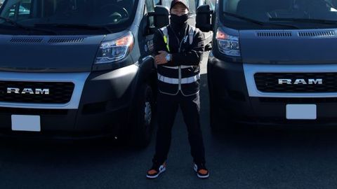 Jeb Lopez, founder and CEO of Wheelz Up, says new Ford Transits and Ram ProMasters are scarce...
