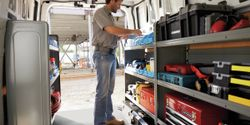 The ability to use the van as a workstation can come in handy, particularly during bouts of...