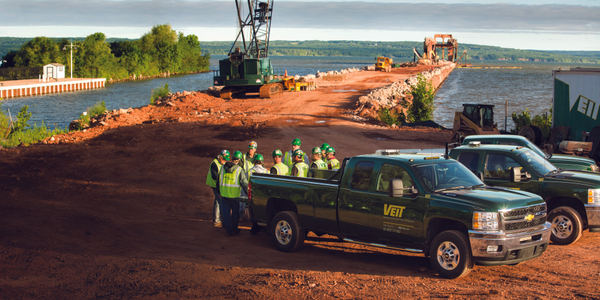 Since the recession hit, Veit, a construction company headquartered in Rogers, Minn., now runs...