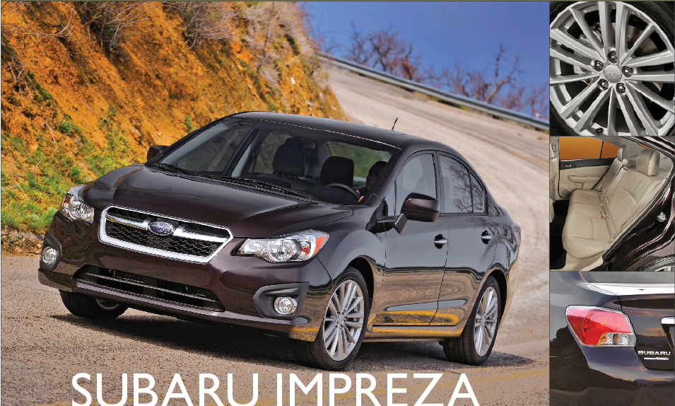 Showroom - Suburu Impreza: MPG from an AWD