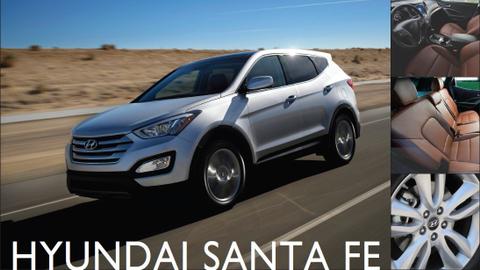 The 2013-MY Hyundai Santa Fe Sport.