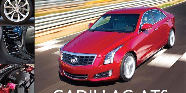 The 2013-MY Cadillac ATS