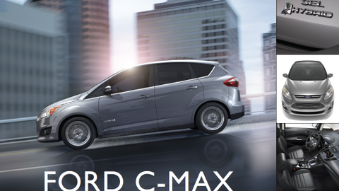 The 2013 Ford C-Max Hybrid