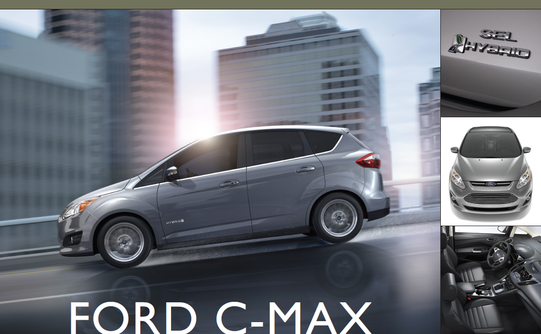 Showroom - Ford C-Max: Detroit Takes Aim at the Prius