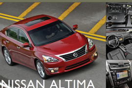 Showroom - Nissan Altima: Mid-size with a Passion