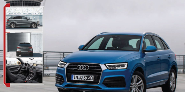 Audi Q3: Just Like Crossing Over