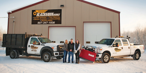 To continue working through the Alaskan winter, BlackHawk Works, a tree removal company, adds...