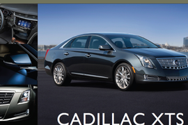 Showroom - Cadillac XTS: New Centerpiece for Luxury Marque