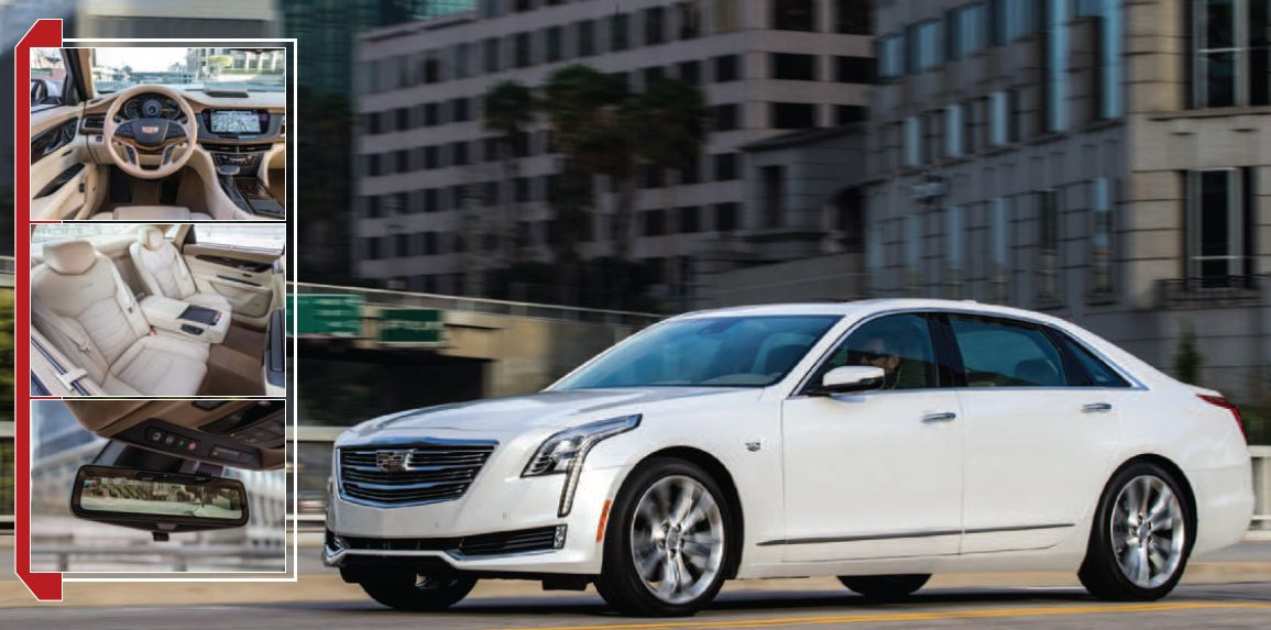 Cadillac CT6: Capture the Flag