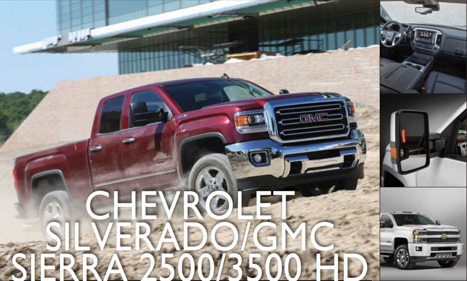 Chevrolet Silverado/GMC Sierra 2500/3500 HD: Heavier Duty