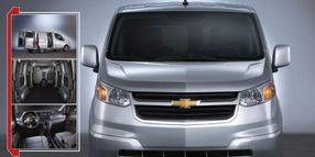Chevrolet City Express: Mobile Office Space