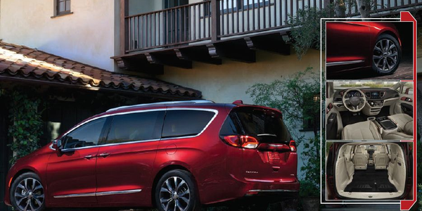 Chrysler Pacifica: The Van of the Hour