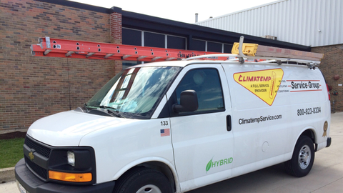 Climatemp Service Group has converted four of its Chevrolet Express service vans to the XL3...