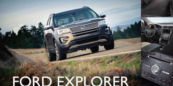 Ford Explorer: Power and Prestige
