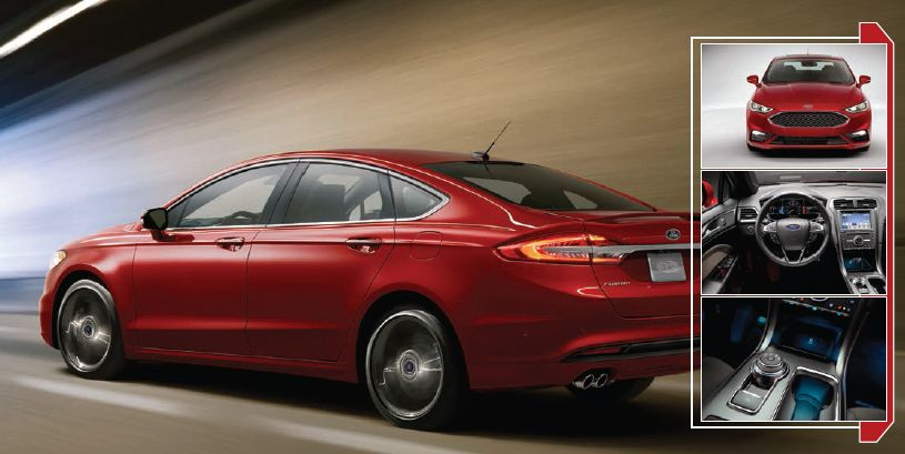 Ford Fusion: Highly Customizable