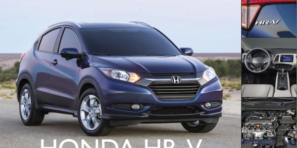 Honda HR-V: Outward and Upward