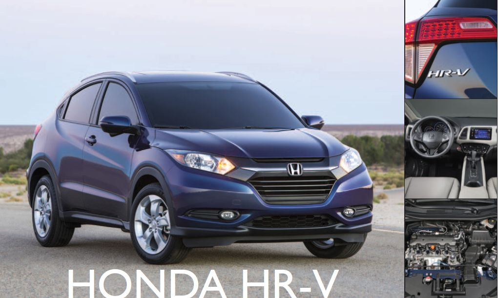 Honda HR-V: Outward and Upward