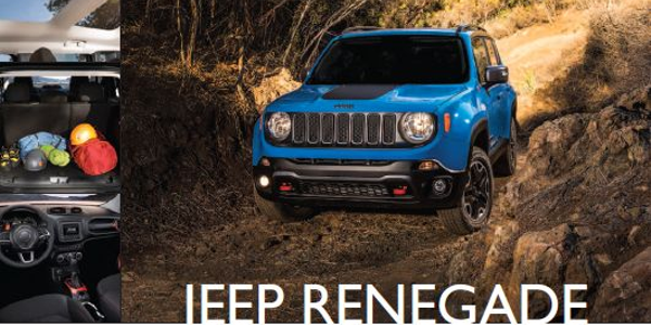 Jeep Renegade: Bite-Size Rugged Crossover
