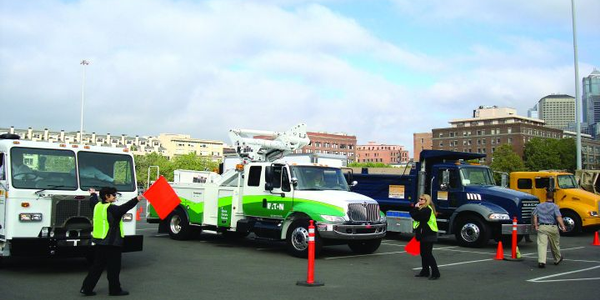 Hybrid Large Trucks: The Road to Viability