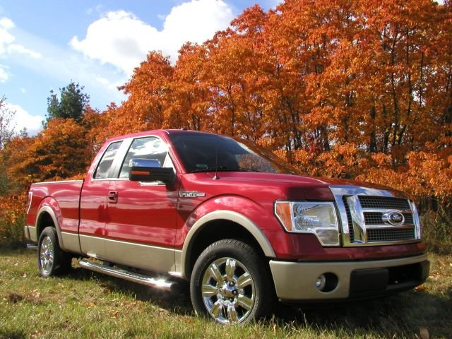 New Ford F-150 Gets to Work